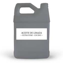 Aceite de Linaza Cocido Refinado Importado